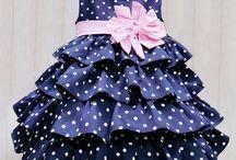 frill flare dress
