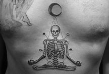 tattoo bryst/kropp
