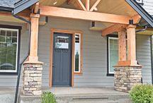 Rose Rustic Craftsman Home