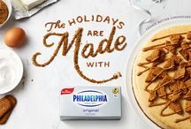 Holidays Are Made With Philadelphia / From delicious desserts, to easy appetizers, to magnificent main courses, every dish for your Holidays are made with Philadelphia. / by Philadelphia Cream Cheese