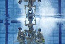 synchroonzwemmen / by daniella bos