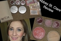 Makeup Tips, Tutorials,  and Reviews / Makeup Tips,Tutorials. and Reviews. All Natural Products, Vegan and Cruelty Free. Abbey St Clare.