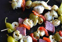 Ideas for Appetizer Dinner
