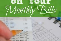 Bills, Bills.. Budget!! / Saving money while living life