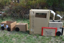 Cardboard Box Party