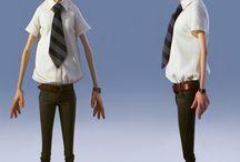 3D Human Character Ref