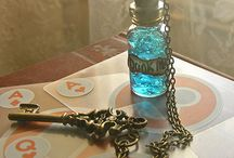 Small bottles / Criatividade preenchendo miniaturas!