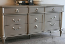 my furniture revivals / Furniture that has been painted, refinished and now revived and loved!