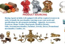 SERVICES / International sourcing company for strategic sourcing & procurements.
