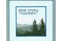 mountains stitch