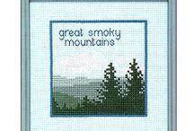 mountains stitch