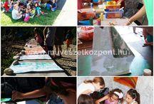 Kerekvilág Művészeti Élménytábor Kapolcs / Művészeti tábor gyermekeknek, a Művészetek Völgyében Kapolcson