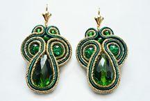 Soutache Jewelry / My work soutache jewerly.