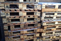 Pallet project / Starting my pallet project... Converting old pallets to new furniture...