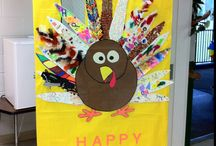 Thanksgiving Door Ideas
