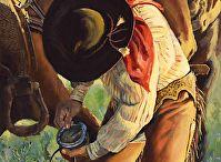 Cowboy Paintings by Nancee Jean Busse Artist / Cowboy Paintings by Nancee Jean Busse Artist