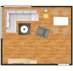 návrh pokojů