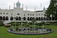 Tivoli Gardens. Copenhagen, Denmark.