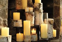 Summer fireplace ideas / by Syrena Hopkins