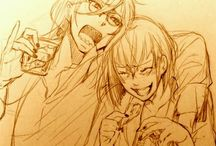 Madame red x Grell
