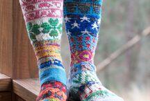 Strikking sokker