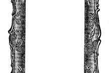 Black and white printables / by Yvonne de Wolf
