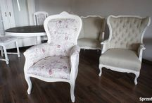 chabby chic / see how we've made chairs, armchairs, tables in this style.