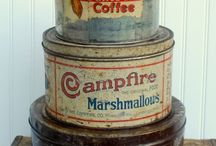 Vintage Tins, and Signs / by Matrixbabe Vintage