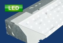 LED Cove Lighting / Energy efficient uplighting that directs light to the ceiling plane and provides overall diffuse illumination.