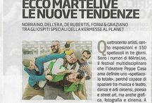 Rassegna stampa MArteLive2016 / La rassegna stampa dell'evento MArtelive 2016 al Planet di Roma: 6,7 e 8 dicembre 2016