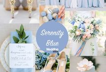 Pantone 2018 colour trends for weddings