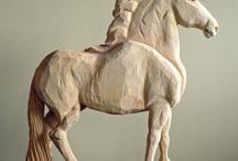 Rzeźbione zwierzęta