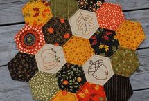 Quilted Table Toppers / by Susan Hillock