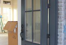 Front Wrought Door