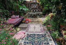 Treasure Map for ideal art/write studio w/garden