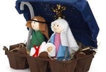 Kerststal maken