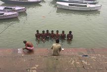 Crónica de un viaje a Benarés, en India.