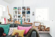 Living Room / Style and decor ideas for family living rooms. / by Daisies & Pie