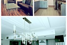 Penthouse Renovation Interior Design / Eclectic, traditional and modern penthouse renovation, North Vancouver