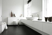 Master, full and half bathrooms / Bathroom Inspo