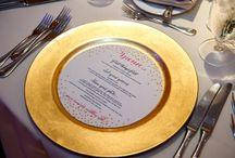 tabletop wedding decor