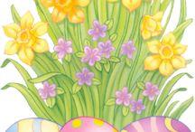 Wielkanoc - digi stemple