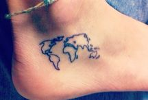 Travel tattoos / Tattoo inspiration for travelers
