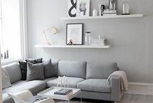 ✖️ Home • Interior • Inspiration ✖️ / interior scandinavian house home black white trendy