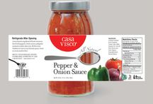 sauce packaging design