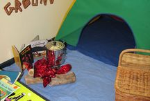 Preschool camping theme