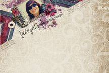Pixel Gypsy Layout Inspiration / Digital scrapbooking layouts and projects using Pixel Gypsy products.