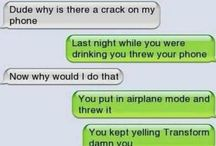 Crack A Joke / Cracking a phone is no joke, but these are. Just a few phone jokes collected as we go :)