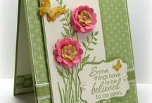 RETIRED - STAMPIN' UP! - JUST BELIEVE / Handgemaakte kaarten met stempeltechnieken, cadeauverpakkingen en andere creaties gemaakt met de Stampin' Up! stempelset JUST BELIEVE {RETIRED - NIET MEER VERKRIJGBAAR}