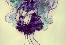 Desenhos lindos e perfeitos(Não são meus;( / Inpirações para desenhar✌️✏️